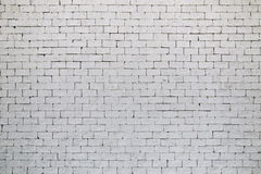 White brick wall texture for background Royalty Free Stock Images