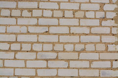White brick wall texture or background. Old White brick wall texture or background Stock Photo