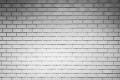 White brick wall texture background with space for text. White brick wallpaper. Home interior decoration. Architecture concept. Empty white wall for interior royalty free stock images