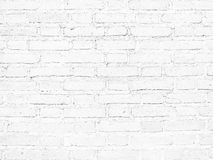 White brick wall Texture Design. Empty white brick Background for Presentations stock photography