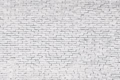 White brick wall Texture Design. Empty white brick Background for Presentations and Web Design. A Lot of Space for Text stock image