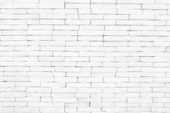White brick wall Texture Design. Empty white brick Background for Presentations royalty free stock images