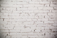 White brick wall texture Royalty Free Stock Photo