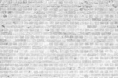 White Brick Wall Texture Stock Photo