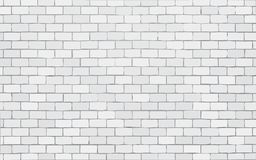 White brick wall vector illustration background royalty free illustration