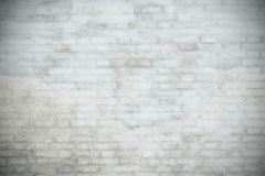 White brick wall. Texture vintage background Royalty Free Stock Photo