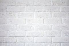 White brick wall. White brick wall.