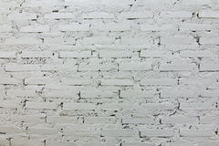 the white brick wallpaper Stock Photo