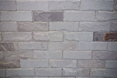 White Bricked Wall Background Royalty Free Stock Images