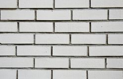 White bricks. Outdoor image of white bricks background Stock Photos