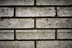WHITE BRICKS Stock Image