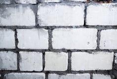 White bricks wall Royalty Free Stock Photos