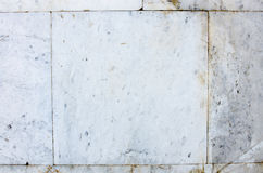 White bricks wall, grunge background. Place for text Royalty Free Stock Photo