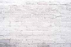White Brickwall Stock Photography
