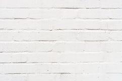 White brickwall surface Royalty Free Stock Photos