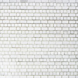 White brickwall surface Stock Photos