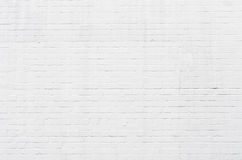 White brickwall surface Royalty Free Stock Photos