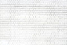 White brickwall surface Stock Images