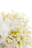 White Bridal bouquet Royalty Free Stock Image