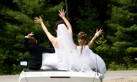 White Bride Stock Photos