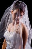 White Bride Stock Image