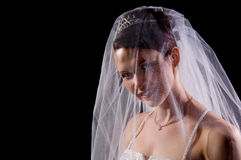 White Bride Royalty Free Stock Image