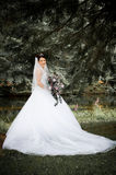 White Bride Stock Photo