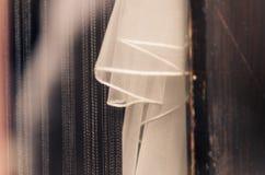 White bride gauze Royalty Free Stock Images