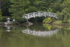 White bridge Royalty Free Stock Image