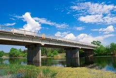 White bridge Royalty Free Stock Photo
