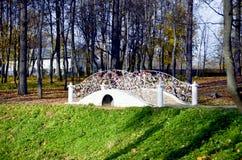 White bridge Stock Image