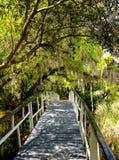 White bridge in Charleston, South Carolina Stock Photo
