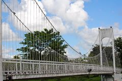 White bridge Stock Photography