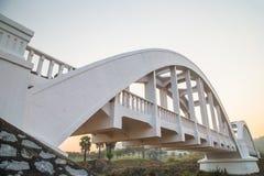 White Bridge. In Lamphun stock photo