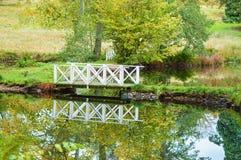 White bridge Stock Images