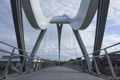 White bridge. At stockton on tees Stock Images
