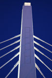 White bridge under blue sky Stock Photo
