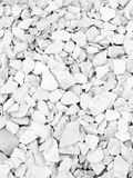 White Broken Stones Texture Royalty Free Stock Image