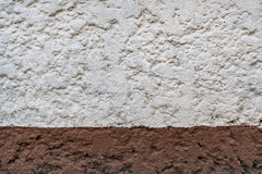 White and brown concrete. Texture Stock Photo