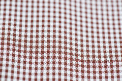White and brown strap shirt. Particular white and brown strap shirt stock photography