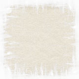 White brush strokes painting on brown recycled Stock Images