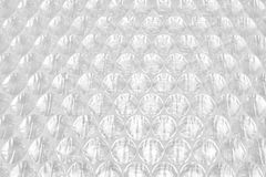 White Bubble Wrap Packing Or Air Cushion Film Abstract Backgroun stock photography