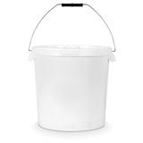 White bucket Stock Photography