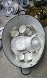 White Bucket of China collection Stock Photo