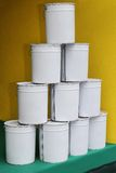 Paint buckets Royalty Free Stock Image