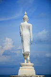 White Buddha. With blue sky Stock Image