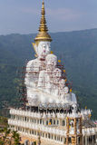 White buddha are been building Stock Image