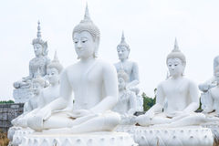White Buddha Royalty Free Stock Photography