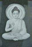White buddha Stock Images