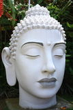 White Buddha Head Royalty Free Stock Image